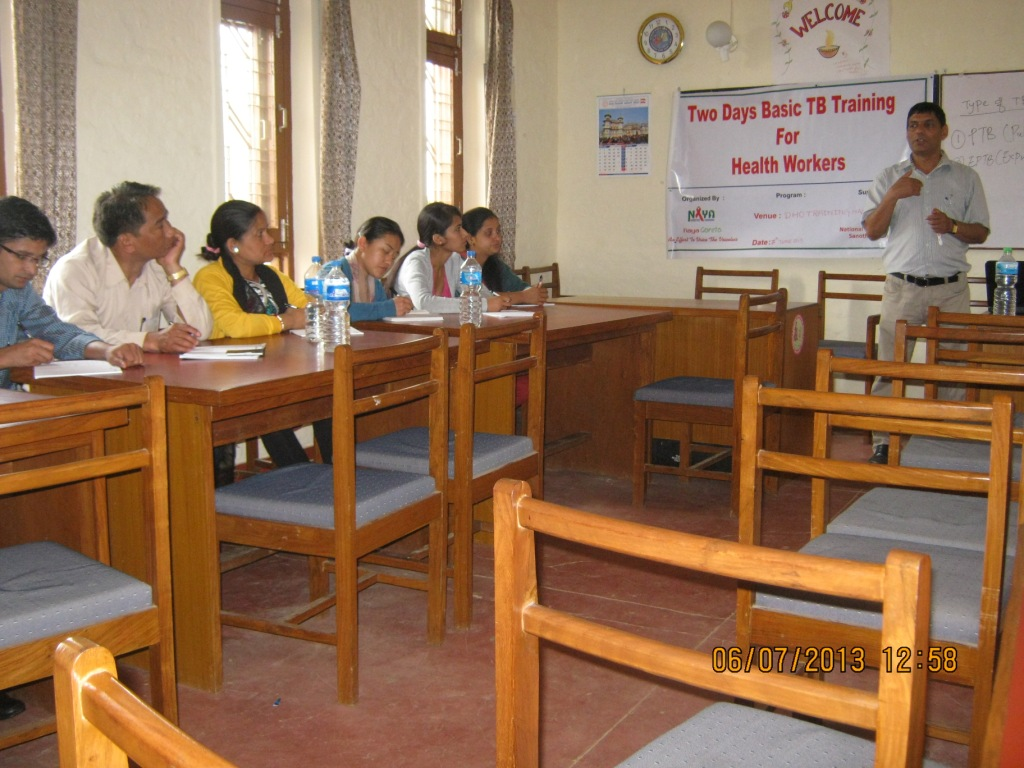 2 Days TB Training for Health Workers working in HIV/AIDS