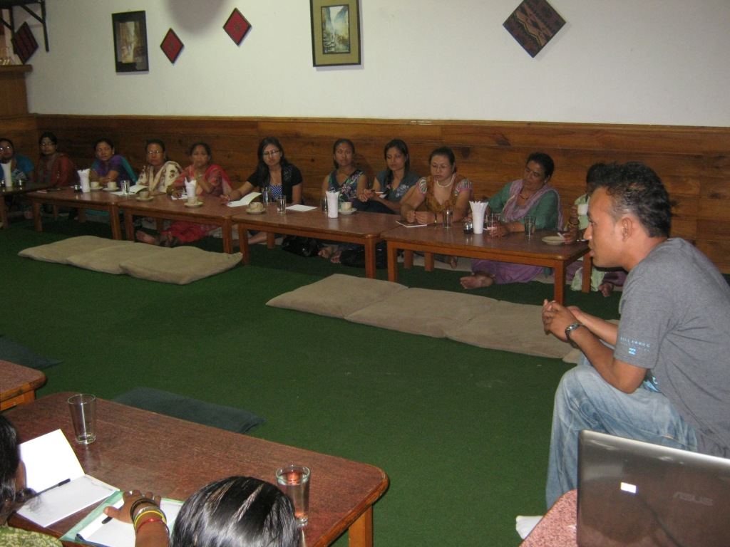 Advocacy Program with Ward Health Implementing Committee (WHIC)