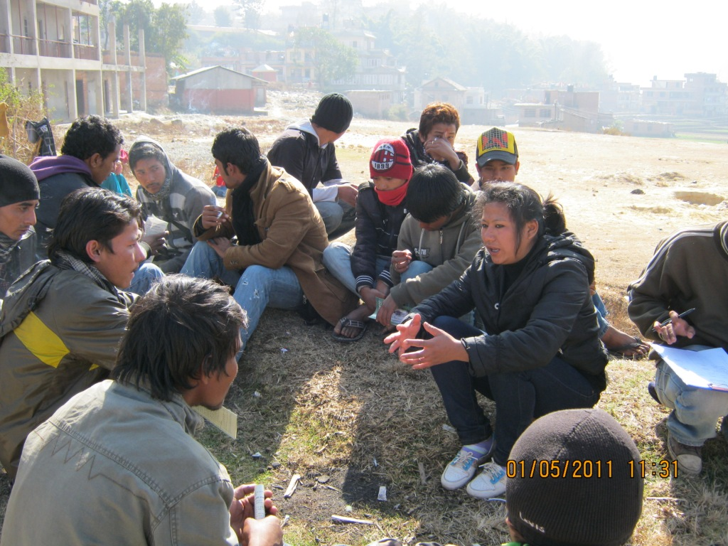 Prevention of Transmission of HIV among drug users in Nepal