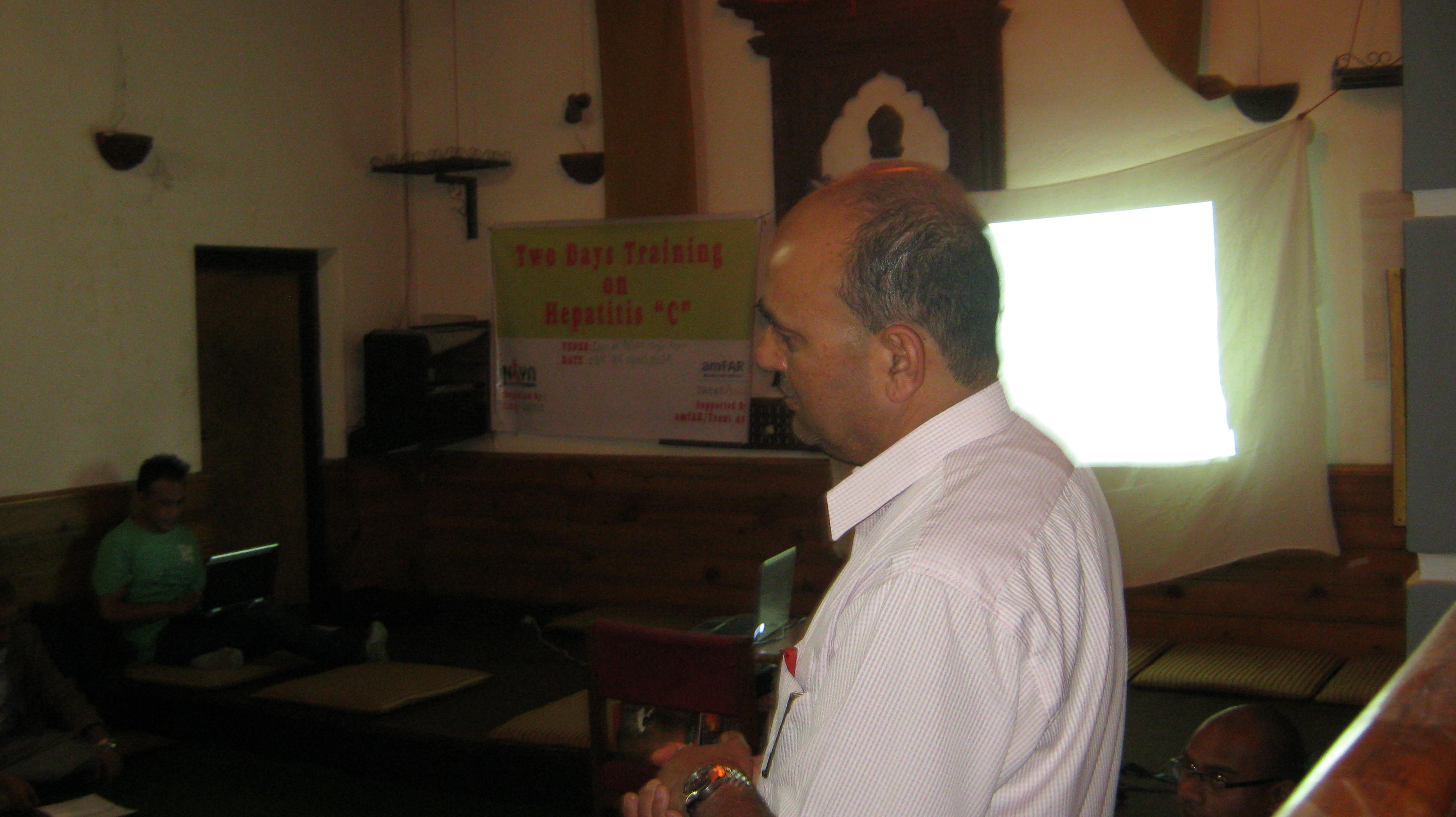1st Training Program on HCV in Kathmandu